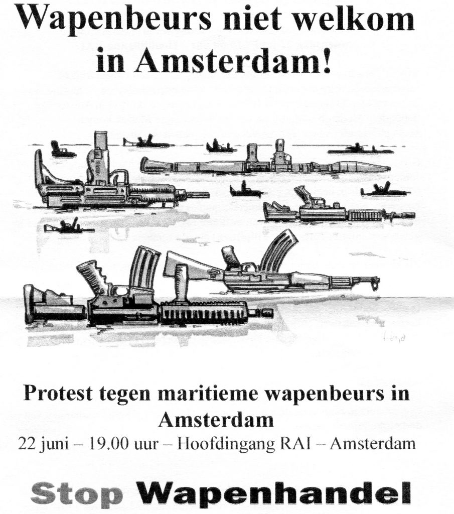 stop wapenbeurs
